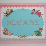 A personalized keepsake invitation for your flower girls!