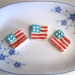 Try these star-spangled marshmallows for the perfect cupcake topper!