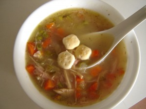 Soothe your next cold with this classic chicken soup recipe; so much tastier and healthier than canned!