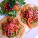 Serve these super-quick chicken tacos with a side salad or chips and salsa!