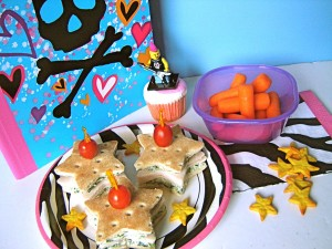 Take their lunch box from boring to a BLAST with a rock-star themed lunch time menu!