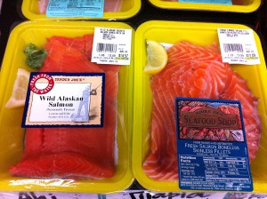 Pay the extra money for wild caught salmon and reduce your exposure to chemicals toxins and mad cow disease!