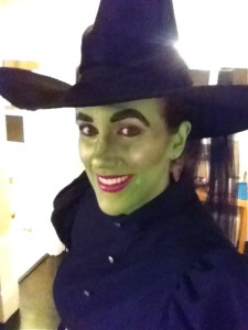 My version of the Wicked Witch of the West!