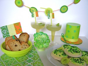 Get in the  spirit by making a special dinner night for your family or go all out and create the perfect St. Patty's bash!