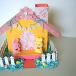 Welcome to my Easter village! This will be the main house to my soon-to-be three house Easter village!