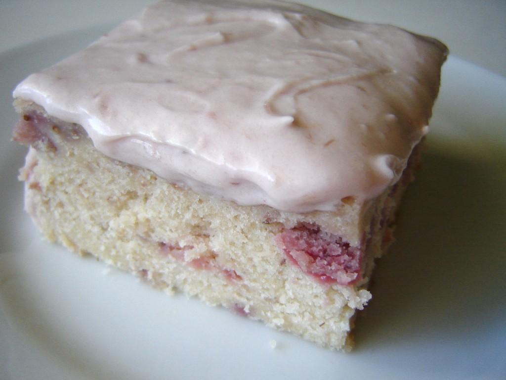 strawberry cake recipe best homemade strawberry cake moist strawberry ...