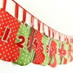 Interesting Advent Calendar Ideas: mini stocking advent calendar