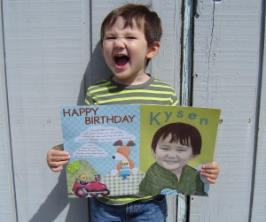 You have no idea how difficult it was to send this birthday card in, never to be seen again, and not knowing if all my crafting would be in vain!