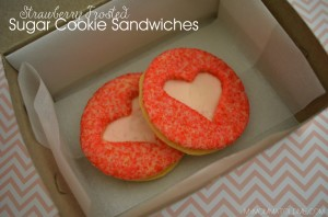 Copy-Cat Susie Cake's Cute Valentine cut-out Cookie Sandwiches and pay WAY less than $3 a cookie!