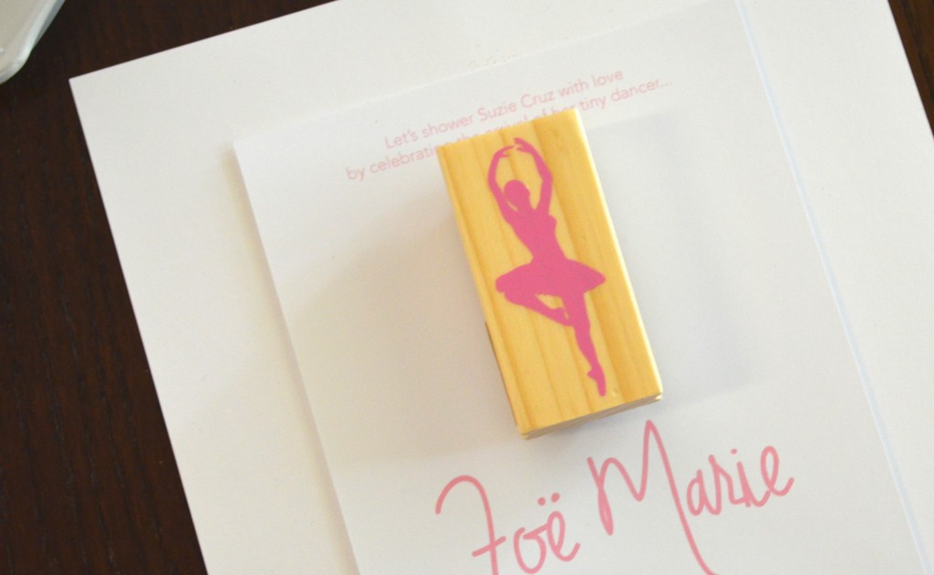 Make your own ballerina invites // MyMommaToldMe.com