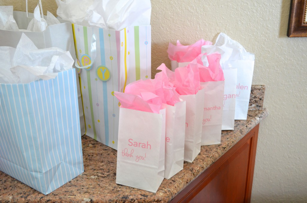 Home goody bags for little girls at baby shower mymommatoldme com