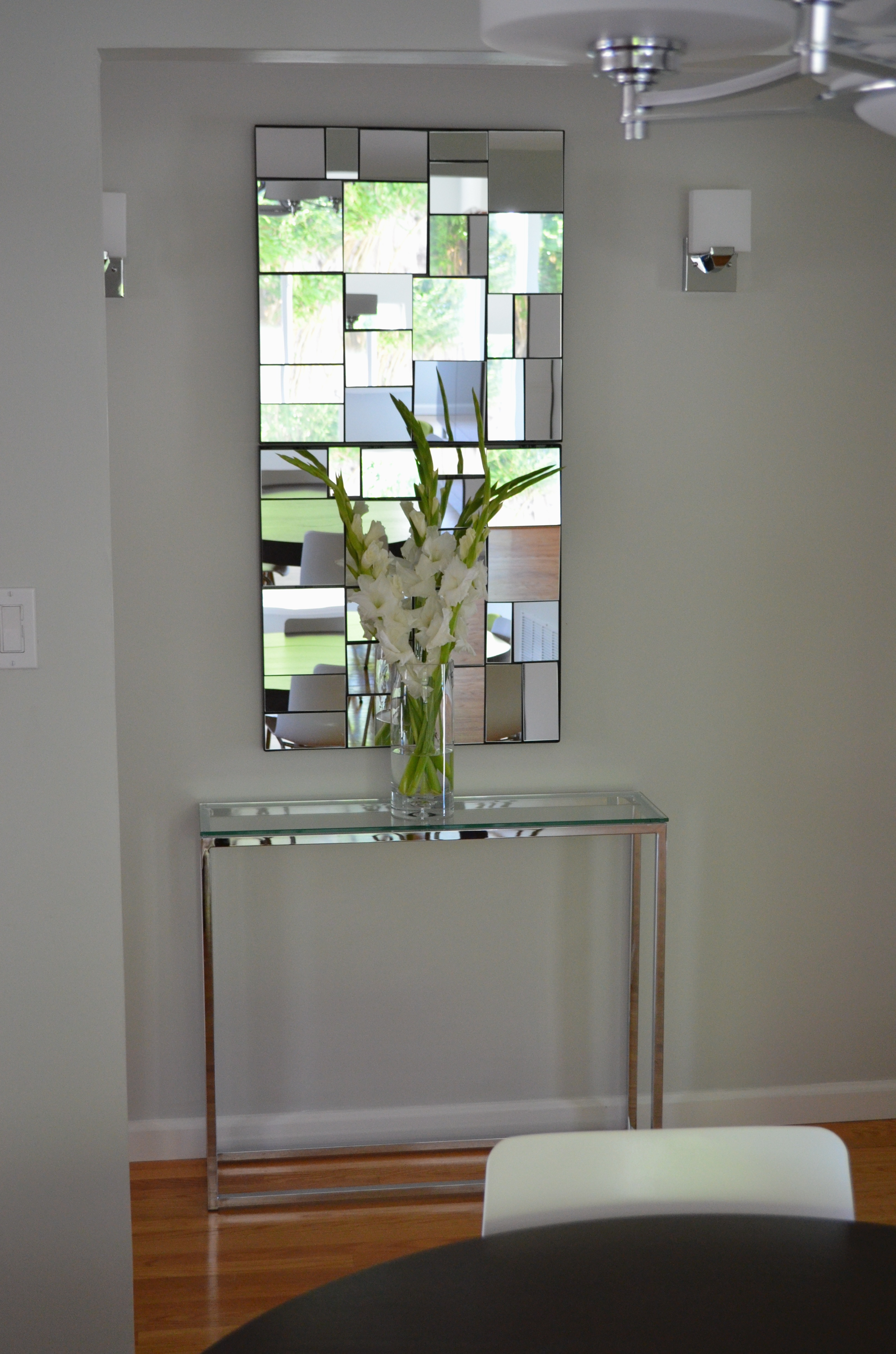 Modern Entryway Makeover For Small Space MyMommaToldMecom