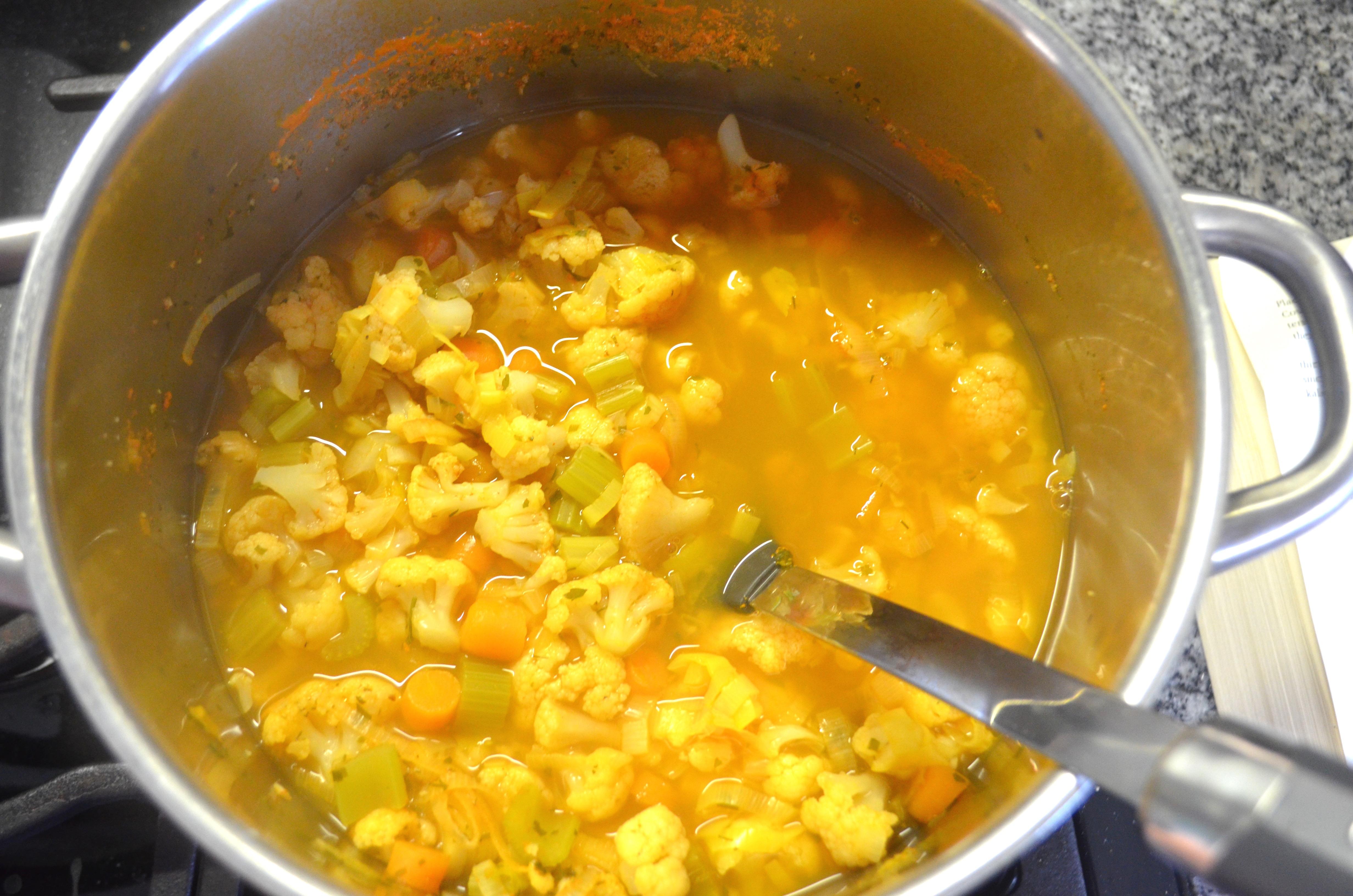 ... Live Program Golden austrian cauliflower Soup recipe MyMommaToldMe.com