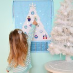 Frozen Advent Calendar Frozen Christmas Decorations Frozen Christmas tree Disney Frozen