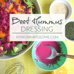 Beet Hummus Dressing Dr Fuhrman Eat to Live 6 week plan recipe oil free salad dressing recipe