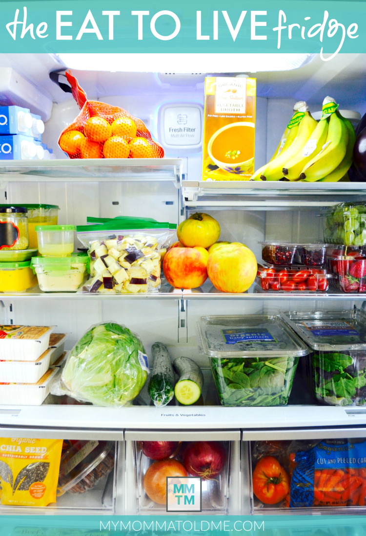 Dr Fuhrman Eat to Live 6 Week Program Clean Eating Fridge Tour
