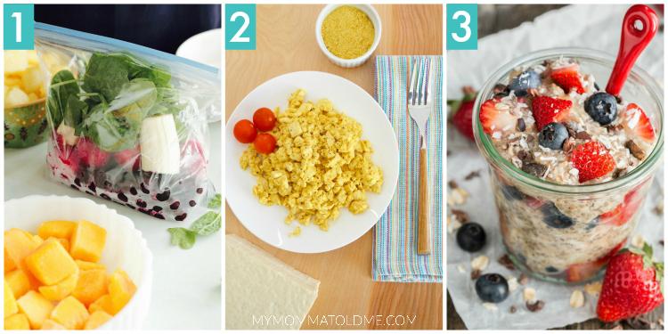 Eat to Live Nutritarian Food Prep Breakfast Dr Fuhrman 6 week program clean eating food prep