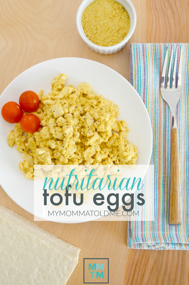 Tofu Scrambled eggs Dr Fuhrman Eat to Live recipe 6 week Eat to Live program Nutritrian diet plan
