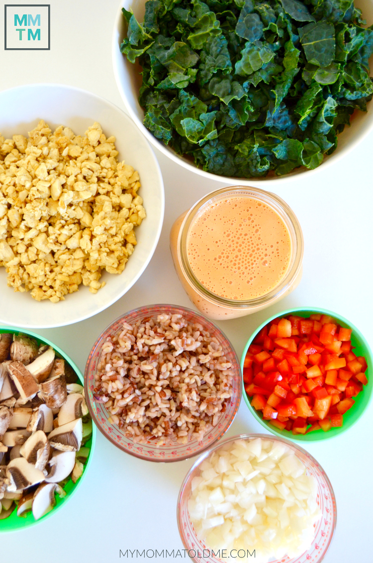 Dr Fuhrman Eat to Live Program Recipe Nutritarian Kale and Red Pepper Casserole MyMommaToldMe