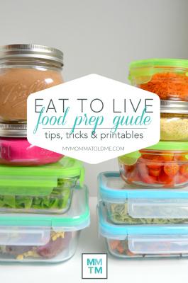 Eat to Live Food Prep Guide Dr Fuhrman 6 Week Plan Nutritarian Program Clean Eating No Oil recipe Vegan food prep BUTTON