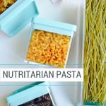 Nutritarian Pasta Dr Fuhrman 6 week eat to live plan PBS special bean pasta quinoa pasta edamame pasta