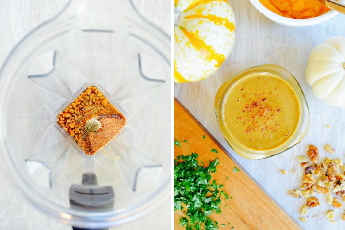no oil salad dressing recipe pumpkin balsamic vinaigrette dr fuhrman nutritarian no oil no added salt salad dressing vegan